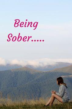 Being Sober.isn't always easy. Life Problems, Sober, Feelings, Easy