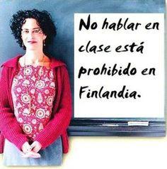 En Finlandia, los que suspenden son los profesores...