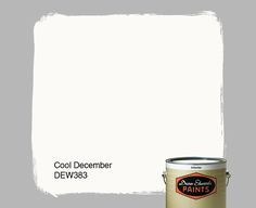 Dunn-Edwards Paints paint color: Cool December DEW383 | Click for a free color sample