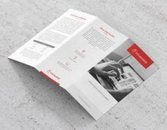 """다음 @Behance 프로젝트 확인: """"Clean Trifold Brochure"""" https://www.behance.net/gallery/42926911/Clean-Trifold-Brochure"""