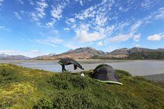 Telttarrissulla Islannissa