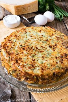 Italian Beef and Sausage Pie - A Family Feast® Casserole Recipes, Meat Recipes, Dinner Recipes, Cooking Recipes, Delicious Recipes, Farmers Casserole, Dinner Ideas, Recipies, Quiche Recipes