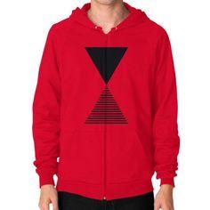 Time Zip Hoodie (on man) Shirt