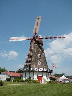 Danish windmill near Elk Horn Iowa