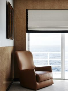 Classic roman blind with band on 3 edges, RB1 with additions as seen...http://www.bqdesign.com.au/roman-blinds   Alexandra Kidd Design