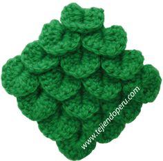 MASTER CLASS: with step by step picture instructions, video and diagram, Russian language ---- Punto cocodrilo con ilustraciones, video y diagram, idioma Russo Crochet 101, Crochet Chart, Crochet For Beginners, Crochet Motif, Crochet Doilies, Crochet Ideas, Crochet Stitches Patterns, Stitch Patterns, Crochet Crocodile Stitch