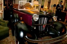 High quality Vintage Car Prop available to hire. View Vintage Car Prop details, dimensions and images. Vintage Shoes, Vintage Cars, Antique Cars, Party Props, Party Themes, Party Ideas, Roaring Twenties Party, Art Deco Party, 1920s Party