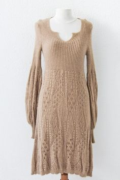 Vintage Salvatore Ferragamo Knitting Dress by cutvintage on Etsy, €97.40