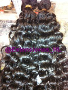 Extensiones de cabello virgen rizado 60cm - Extensiones de clip y cortina | Cabello natural