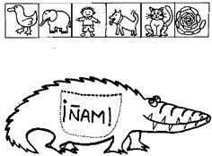 !Qué risas, qué risas! Finn Herman es un cocodrilo que se lo come todo, todo. Su delicada ama, le trata como a un pequeño adorable que debe tener cuidado de quienes se acercan, que siempre quier… Crocodiles, School Supplies, Preschool, Short Stories, Activities, Cheer