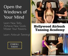 Learn the Art & Business of Airbrush Tanning Airbrush Tanning, New Students, Connecticut, Mindfulness, Hollywood, Passion, Learning, Beauty, Studying