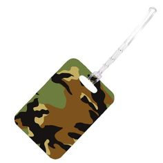 Space Case Unisex Stylish Luggage Bag Tag Camoflauge *** Want additional info? Click on the image. #Luggage