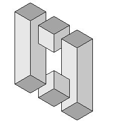 Impossible figure 10