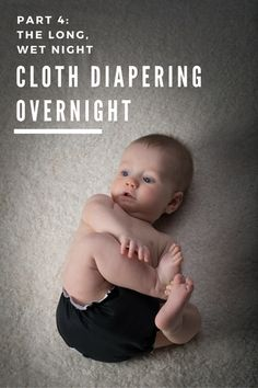Tips for cloth diapering overnight