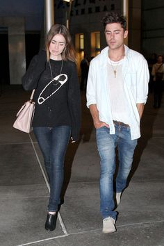 Zac Efron Lily Collins Dating AGAIN?