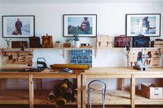 Inside the Edinburgh studio of leathersmith Dani Caltik