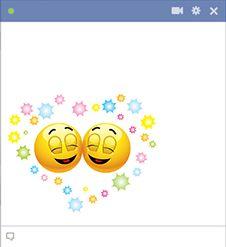 Happy emoticons for Facebook