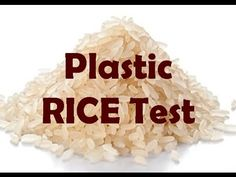 Beware, China Is Making Rice From Plastic – Here's How To Spot It - Healthy Life - Omigy Natural Cough Remedies, Natural Health Remedies, Natural Cures, Herbal Remedies, Healthy Food Choices, Healthy Tips, Feel Good Food, Herbal Cure, Health Trends
