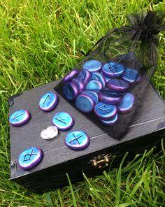 Luna Blue's HandCrafted Runes Set Freya's by LunaBlueBoutique, $40.00