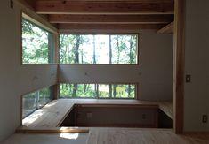 森の図書室のある家 | 施工事例 | 八ヶ岳・長野・山梨・群馬・関東で自然素材の注文住宅なら工務店「アトリエデフ」