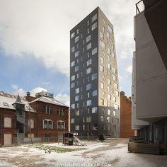 FYRTRNET | Lundgaard & Tranberg Arkitekte | Copenhagen, Denmark