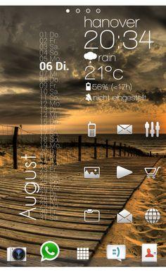 """Widget für Android selber erstellen  Zooper Widget App  """"Zooper Widget"""" ist eine simple App um eigene Homescreen Widget fü ..."""