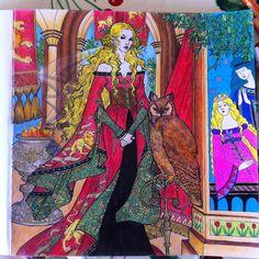 #gameofthrones #coloringbook #cerseilannister #lannisters #gameofthronescoloringbook #fandom