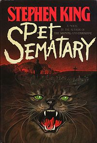 """""""Pet Sematary"""" is a 1983 horror novel by Stephen King. It was nominated for a World Fantasy Award for Best Novel in 1984, and was later made into a film of the same name. In November 2013, PS Publishing will release Pet Sematary in a limited 30th Anniversary Edition"""