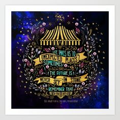 The Night Circus- Unexpected Places Art Print