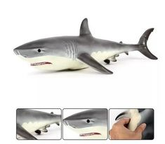 Lifelike Baby Shark Doll