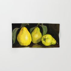 Quinces the fruit of love Hand & Bath Towel by evaleowei Yellow Theme, Art Store, Warm Colors, Bath Towels, Autumn, Fruit, Decoration, Inspiration, Bathroom