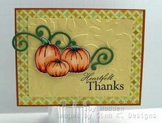 Pieces of Joy: Stamp TV Blog Hop featuring Melanie and Theresa card created by Joy Hadden