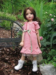 """~PRETTY IN PINK!~by Tuula fits Lorella Falconi Solace, Valentina Rose to a """"t""""!"""