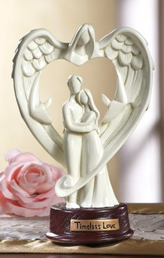 Angel Of Love Couple's Wedding Gift Statue