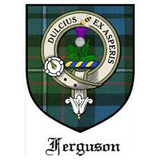 """Ferguson Clan Crest.  The motto:  """"Sweeter After Difficulties"""" something I heard many times growing up <3"""