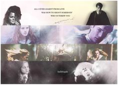 Maybe there's a God above All I've ever learned from love Was how to shoot somebody who outdrew you And it's not a cry that you hear at night It's not somebody who's seen the light It's a cold and it's a broken Hallelujah . Tomione, Hermione Granger, Tom Riddle