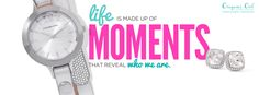Life is made up of moments! The Origami Owl watch is now available. Fully customize it with a custom inscriptions slider at www.nora.origamiowl.com. They make the perfect back-to-school, teacher, Mother's Day, Christmas, Hanukkah birthday or anniversary gift!