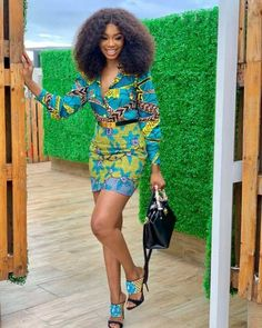 Ankara styles 2020 are one of the most gorgeous African dresses. Get latest Ankara styles and attire trending now which you can even use for Asoebi. Short Ankara Dresses, African Print Dresses, Ankara Gowns, African Prints, Ankara Skirt, African Fashion Ankara, African Wear, African Style, African Attire