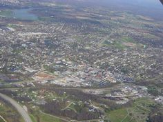 Birds Eye View of Elizabethtown Ky
