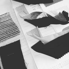 Dia de desenvolvimento por aqui. #fabric #criacao #modabrasileira #juliannafraccaro #portoalegre