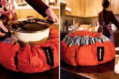 """#Wonderbag è una borsa termo-isolante che cuoce """"a fuoco lento"""", senza fonti di calore."""