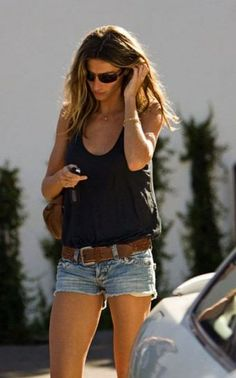 Jean shorts! Work outs for legs!
