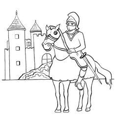 191 Meilleures Images Du Tableau Coloriage Chateau Fort Knights
