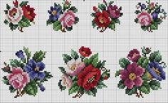 Crochet Flower Spirals In Center Tutorial 59 Part 1 of 2 - Crochet Swaddle Cross Stitch Rose, Cross Stitch Borders, Cross Stitch Flowers, Cross Stitch Charts, Cross Stitch Designs, Cross Stitching, Cross Stitch Patterns, Beaded Embroidery, Cross Stitch Embroidery