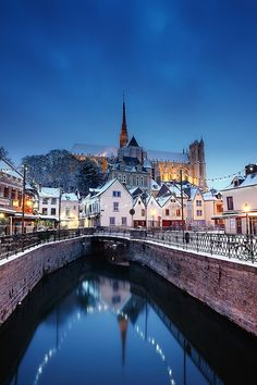 Winter in Amiens ~ Picardie, France