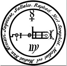 Sigil for archangel Raphael