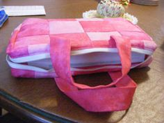 Great Tutorial for a Sewn Bible Cover with Zipper
