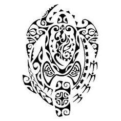 Turtle and hammerhead tattoo