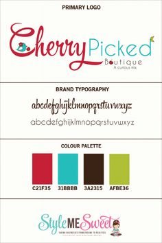 Custom Logo Design For Cherry Picked Boutique