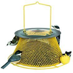 No/No Green and Yellow Sunflower Basket Bird Feeder  SB00... http://www.amazon.com/dp/B000PY760S/ref=cm_sw_r_pi_dp_kJ6qxb0XQ6QA3